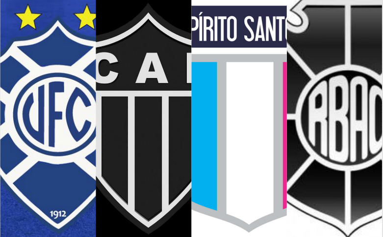 Vitória, Atlético-ES, Espírito Santo e Rio Branco. Foto: Divulgação
