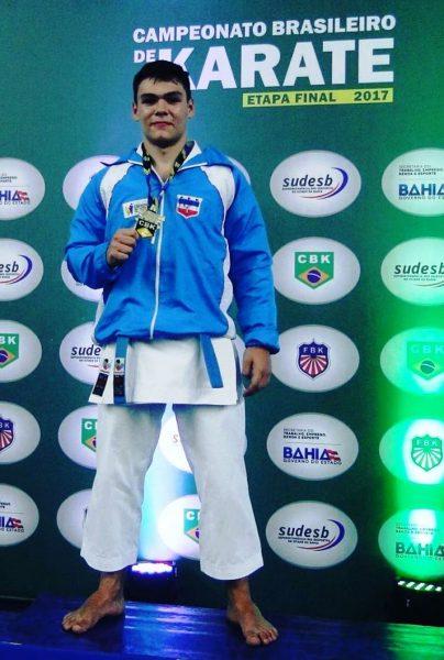 Após tetra brasileiro, Conde terá competições na Serra e em Tocantins