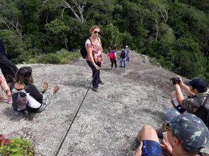 Domingo é dia de subir até a Pedra Branca: 420 metros de altitude no Mestre Álvaro