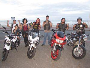 Fim de semana tem encontro de motoclubes em Jacaraípe com muito rock and roll