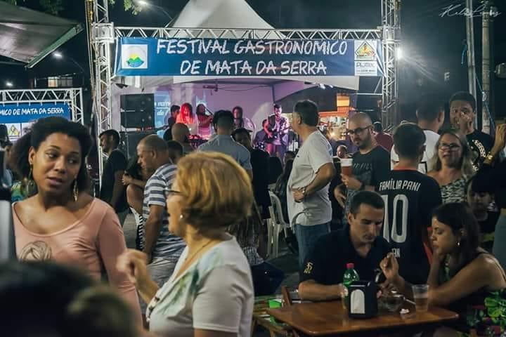 Festival gastronômico com muita música em Mata da Serra em dezembro