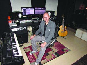 Projeto de estúdio na Serra abre  espaço para compositor local