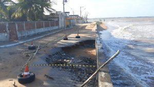 Serra quer aumentar faixa de areia e  proteger restinga contra avanço do mar