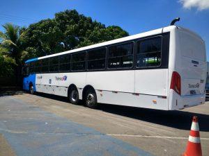 'Super ônibus' da Ceturb começa a circular em fase de testes
