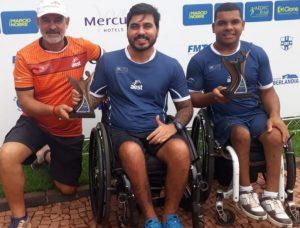Campeão e vice de tênis em cadeira de rodas são da Serra