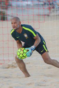 Mão disputa Eliminatórias da Fifa visando Mundial de Beach Soccer