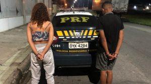 Suspeitos de roubar carro na Serra são presos em Linhares