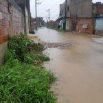 Deslizamentos, desalojados e perdas materiais em temporal na Serra