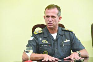 """""""Se as eleições fossem hoje, eu não seria candidato"""", diz coronel Nylton"""