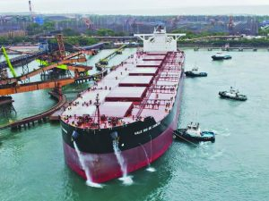 Exportação de minério de ferro despenca 37,6% em Tubarão