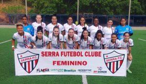 Serra é o único grande do ES a ter futebol feminino