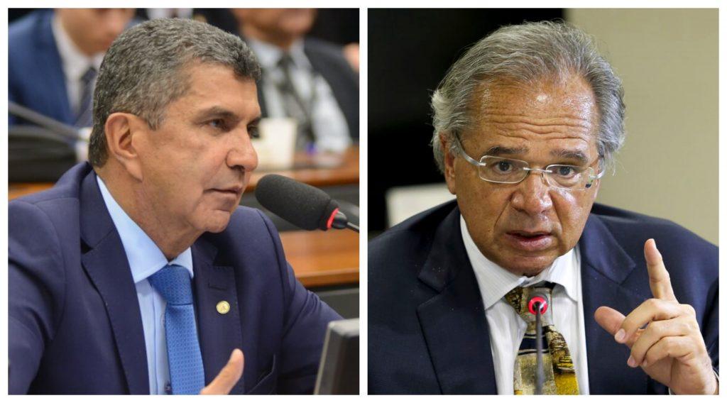 Vidigal bate de frente com Paulo Guedes em audiência na Câmara Federal
