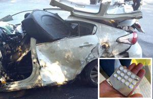 Casal e filho de dois anos morrem em acidente com carreta na Serra
