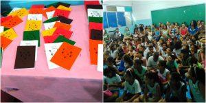 Alunos de escola pública na Serra produzem livro de poesias