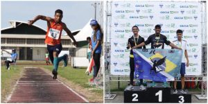 Jovem serrano do atletismo treina forte rumo aos Jogos de Tóquio 2020