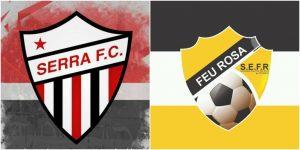 Domingo de futebol feminino com amistoso entre Serra e S.E. Feu Rosa