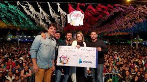 Forró Raiz, da Serra, é campeão de Festival de Forró de Montanha