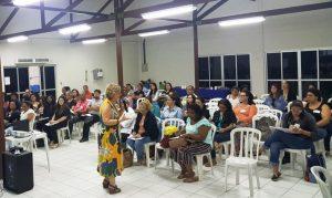 Candidatos ao Conselho Tutelar participam de formação no Cras de Laranjeiras