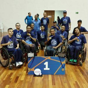 Treino e superação levam rugby em cadeira de rodas do ES ao topo no Brasil