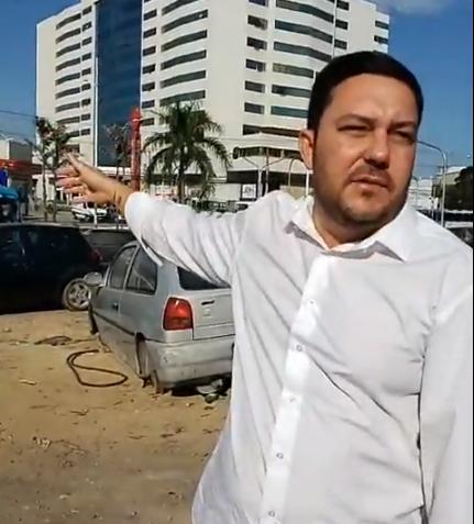 Terreno em frente DPJ não será mais depósito de carros apreendidos, afirma Bruno Lamas