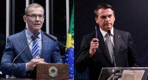 Contarato ameaça ir à Justiça caso Bolsonaro nomeie filho para embaixada