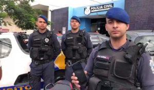 Guarda da Serra recupera moto e celular roubados