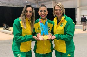 Serrana Deborah Medrado brilha no Pan e retorna ao Brasil com ouro