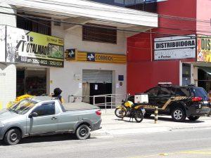 Agência dos Correios é assaltada em Jacaraípe