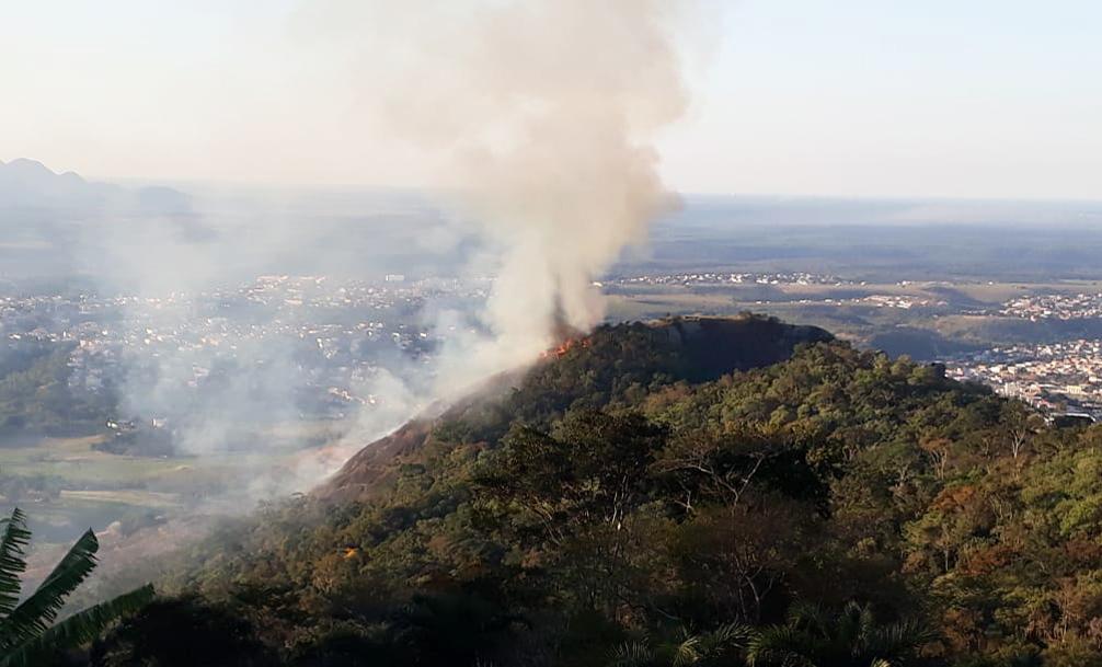 Queimadas na Serra crescem 158% neste ano