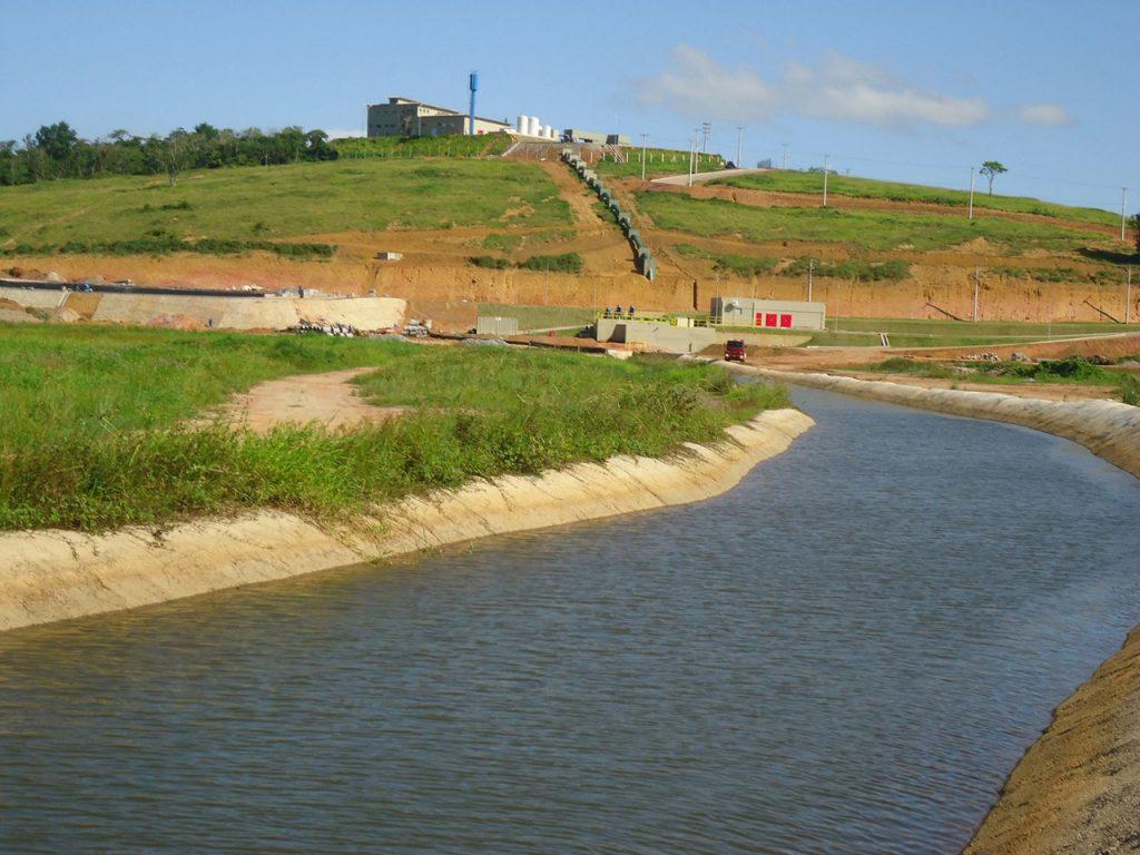 Água da Cesan está chegando salobra e com cheiro  de amônia, denunciam moradores da Serra Sede
