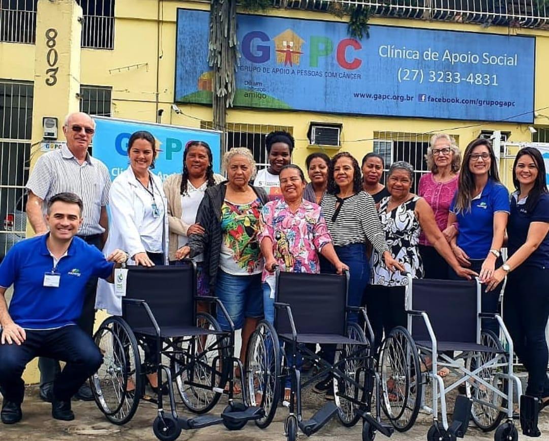 Grupo promove atendimento psicológico, nutricional e fisioterapêutico gratuito para pacientes com câncer