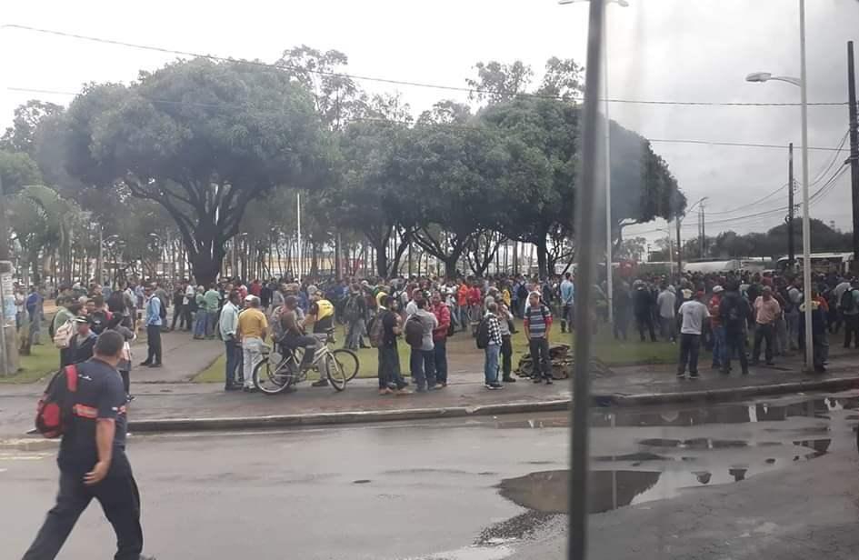 Após protestos, trânsito flui normalmente na Norte Sul